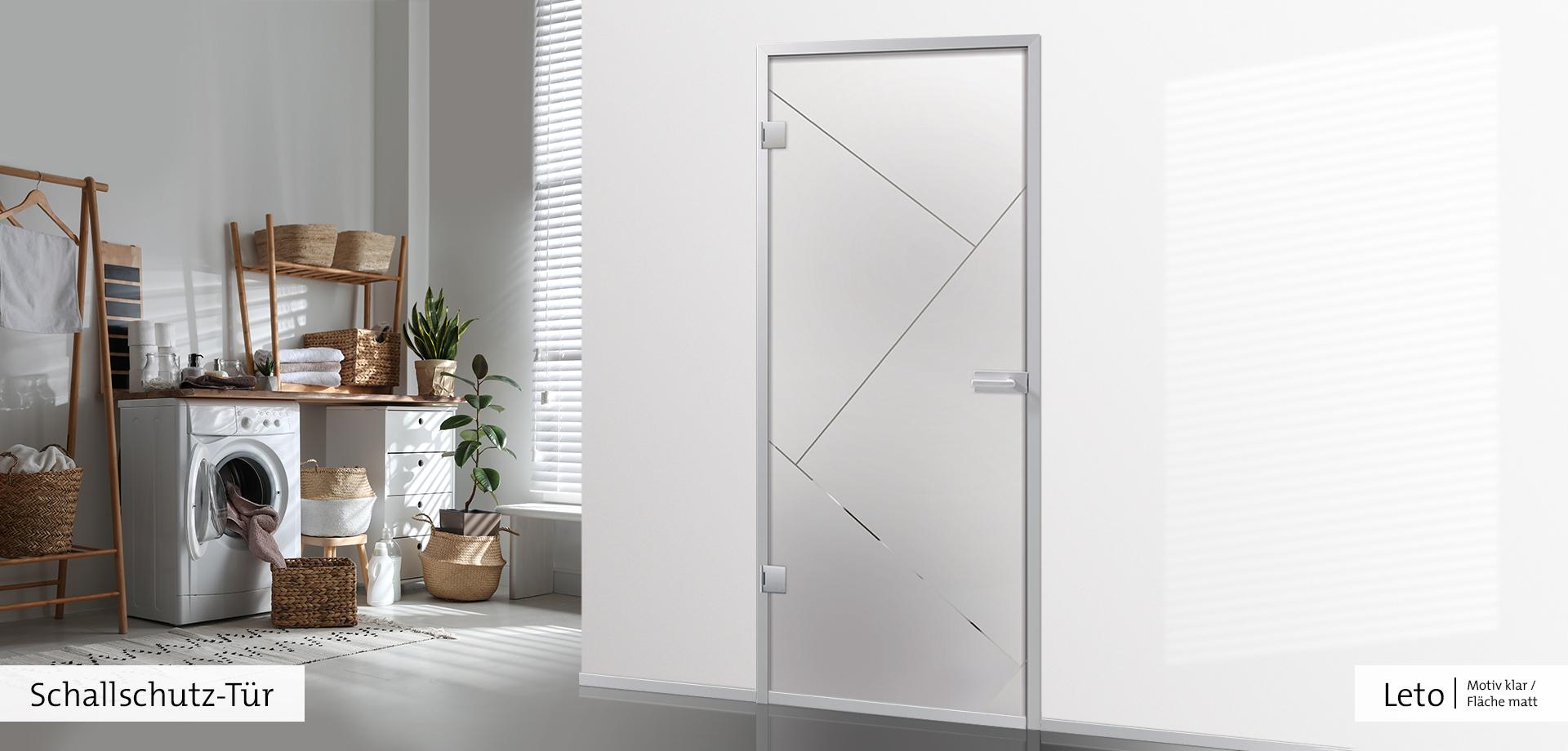 Leto als Schallschutz-Tür